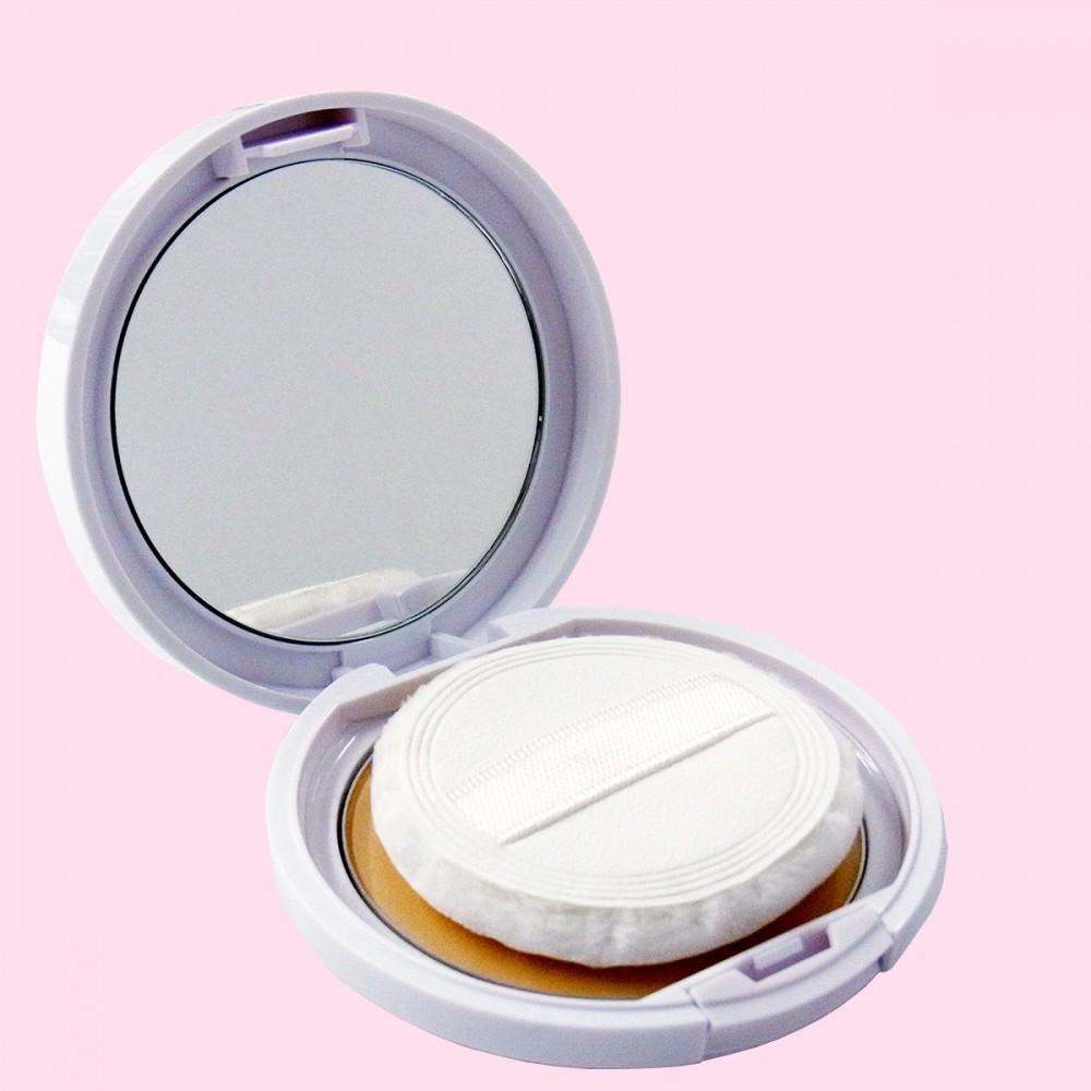 N.U.P. ホワイトリスト 薬用 ホワイトニング UVカットパウダーN【SPF50・PA+++】(容器・開)