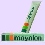 加美乃素 薬用マヤロン歯磨(側面・容器)