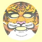 SNP アニマルフェイスマスク トラ(マスク)