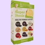 スーパーフードサプリメント 9種類のスーパーフードパウダー(斜め)