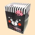くまモン 入浴剤(くまバスEX)・12包セット(内箱・俯瞰)
