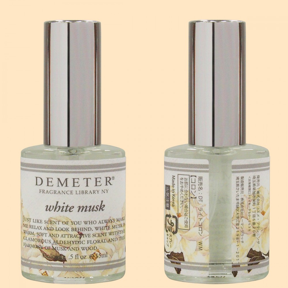DEMETER®(ディメーター) ライトコロン〈ホワイトムスクの香り〉(容器)