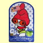 ベニコ×マイメロディ 世界旅行マスクシートU(アメリカ)