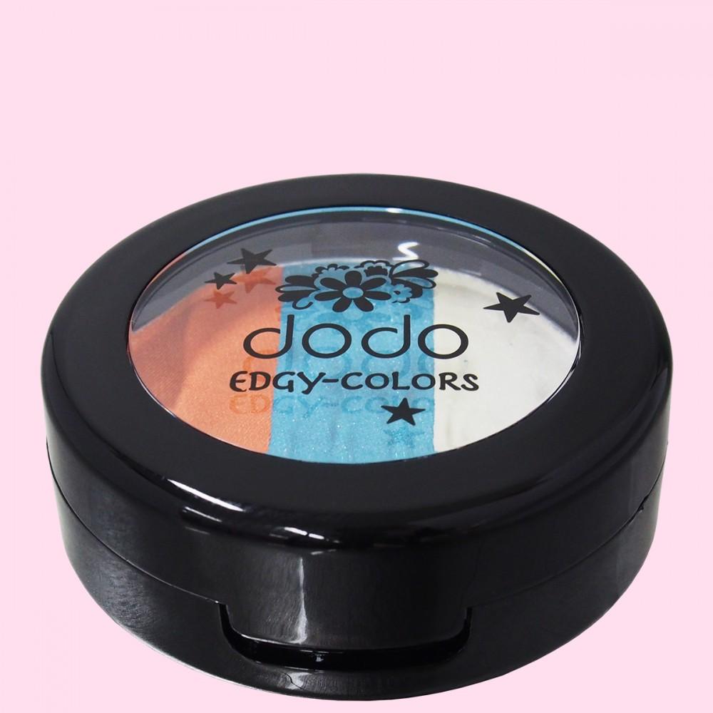 dodo(ドド) エッジィカラーズ EC60 ピーコックブルー(俯瞰)