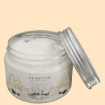 DEMETER®(ディメーター) ボディクリームバター 〈ホワイトムスクの香り〉(容器・開)