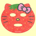 なりきりフェイスパック ハローキティ(いちごちゃん)・シート