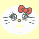 なりきりフェイスパック ハローキティ(カワイイ☆ナベユカ)・シート
