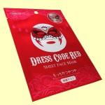 メディヒル フェイスマスク ドレスコード レッド(俯瞰)