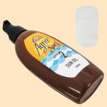 アグリー サーフ サンオイル ウッディムスクの香り【SPF2】(俯瞰・横置き)