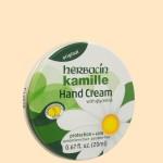 ハーバシン ハンドクリーム缶 オリジナル(斜め)