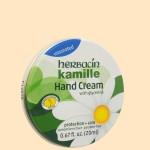 ハーバシン ハンドクリーム缶 無香料(斜め)