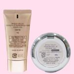 タイムシークレット ミネラルベース&UVパウダー ナチュラルオークルセット(容器・裏面)