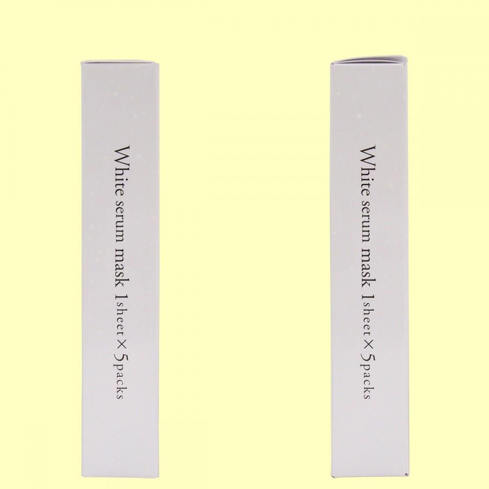 ホワイトセラムマスク 1枚入×5袋(側面)