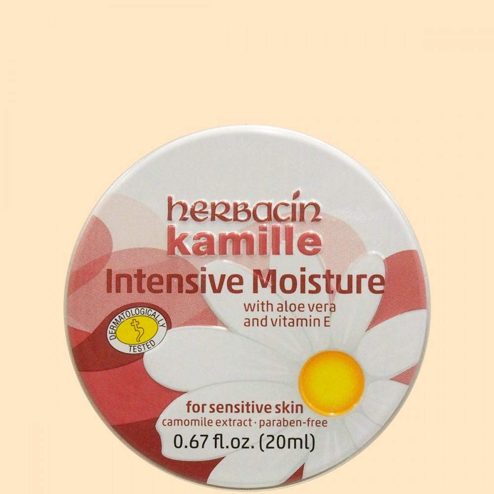 ハーバシン ハンドクリーム インテンシブモイスチャー 缶