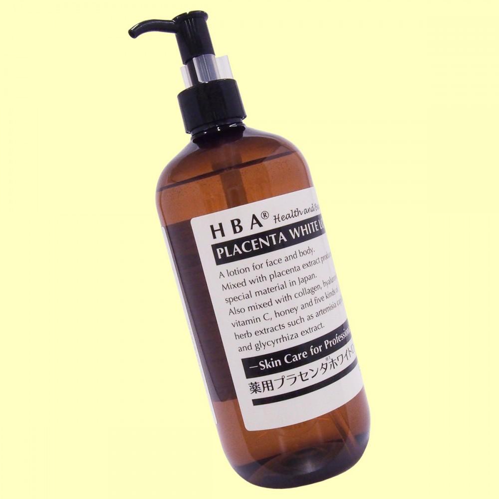 HBA® 薬用プラセンタ ホワイトローション(斜め)