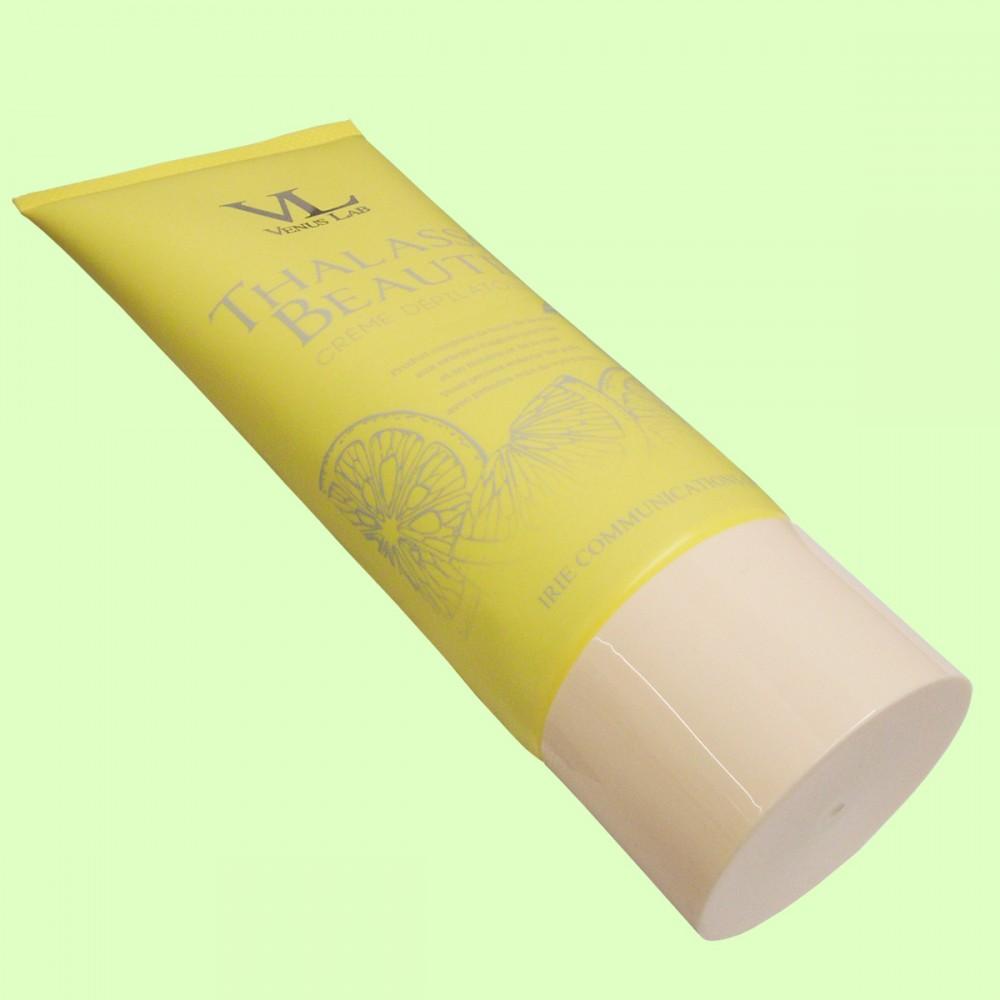 ヴィーナスラボ タラソボーテエピクリーム ゆずの香り(俯瞰・横置き)