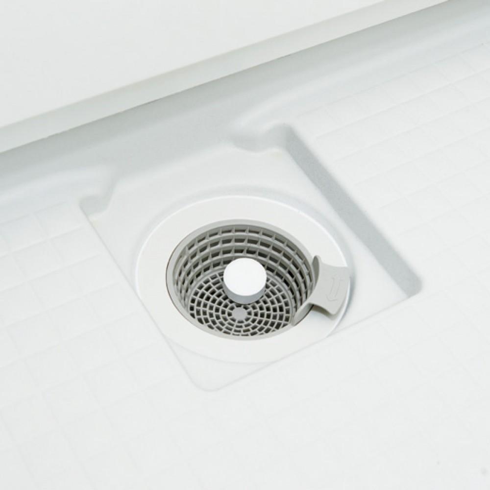 パワーバイオ お風呂の排水口きれい(使用イメージ)