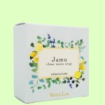 ヴィーナスラボ フェミナチュール ジャムウクリアナノソープ レモングラスの香り(斜め)