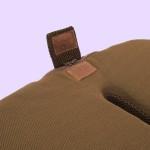 腰痛対策クッション ブラウン(本体・底面フラップ)