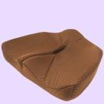 腰痛対策クッション ブラウン(本体)