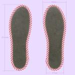 NO SOCKS SOLE STRIPE ストライプグレー P S-M(本体寸法)
